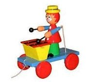 quality_wooden_toys_wholesale_1101_handcrafted_pull_along_clown_xylophone_toys